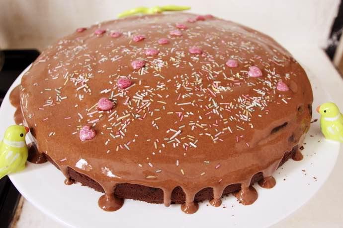 brownie végane caroube et cacahuètes