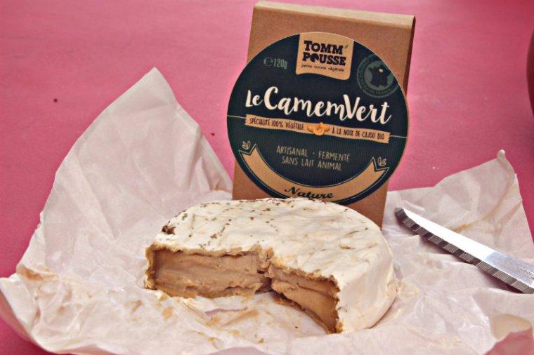 Camemvert, un produit végétalien délicieux