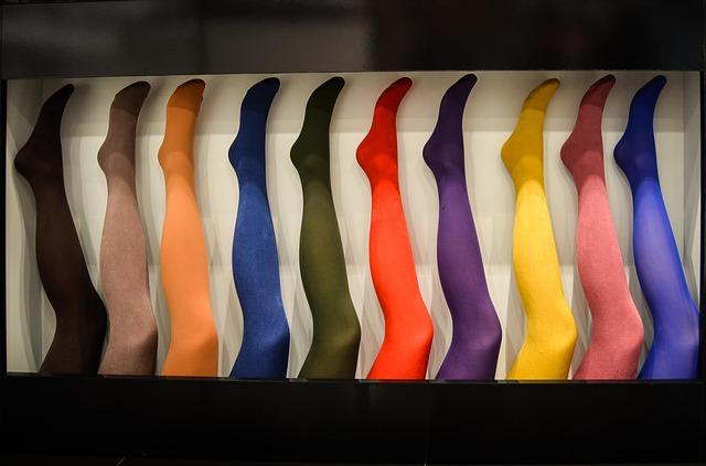 collants de toutes les couleurs
