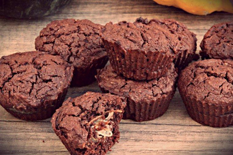 Muffins au chocolat végétaliens