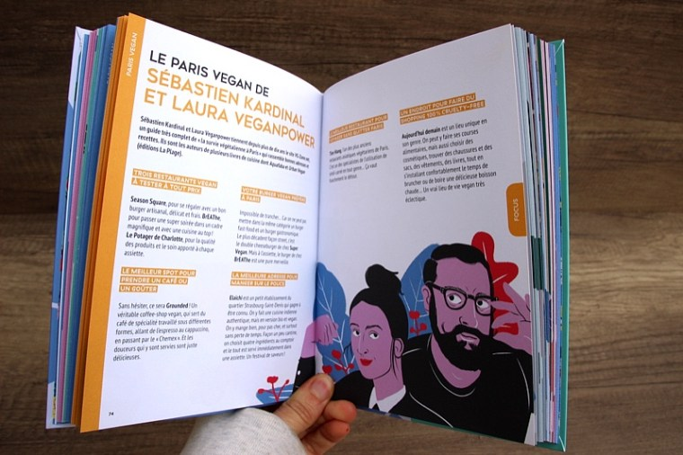 Interview Sebastien Kardinal et Laura vegan power dans le guide du paris vegan