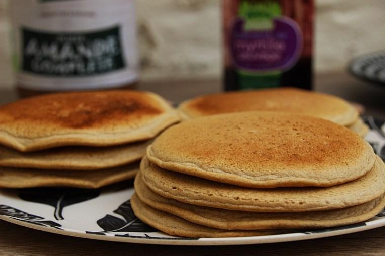 Pancakes IG bas sans gluten, végétaliens