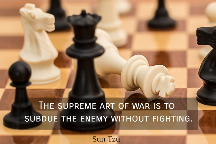 1561902788375 the supreme art of war is to subdue the enemy without fighting