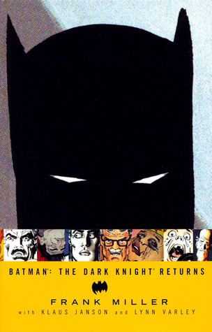 Cover to Batman The Dark Knight Returns Hardcover by Frank Miller|The best comic of all time?|Batman|sa