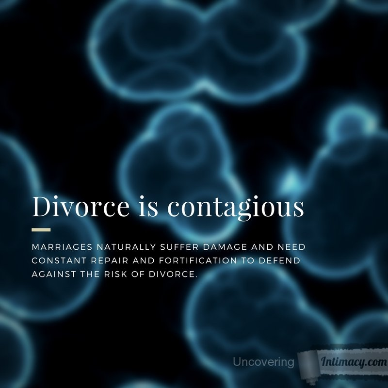 Divorce is contagious