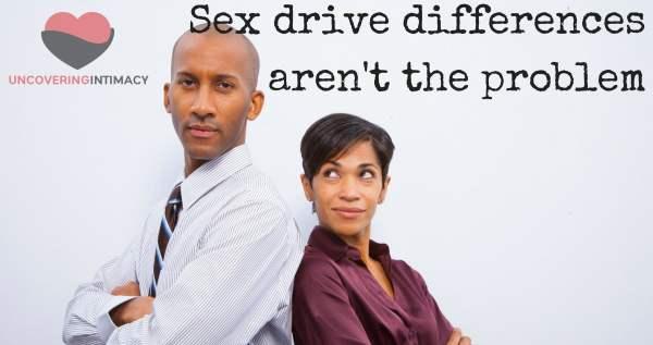 Sex drive differences aren't the problem