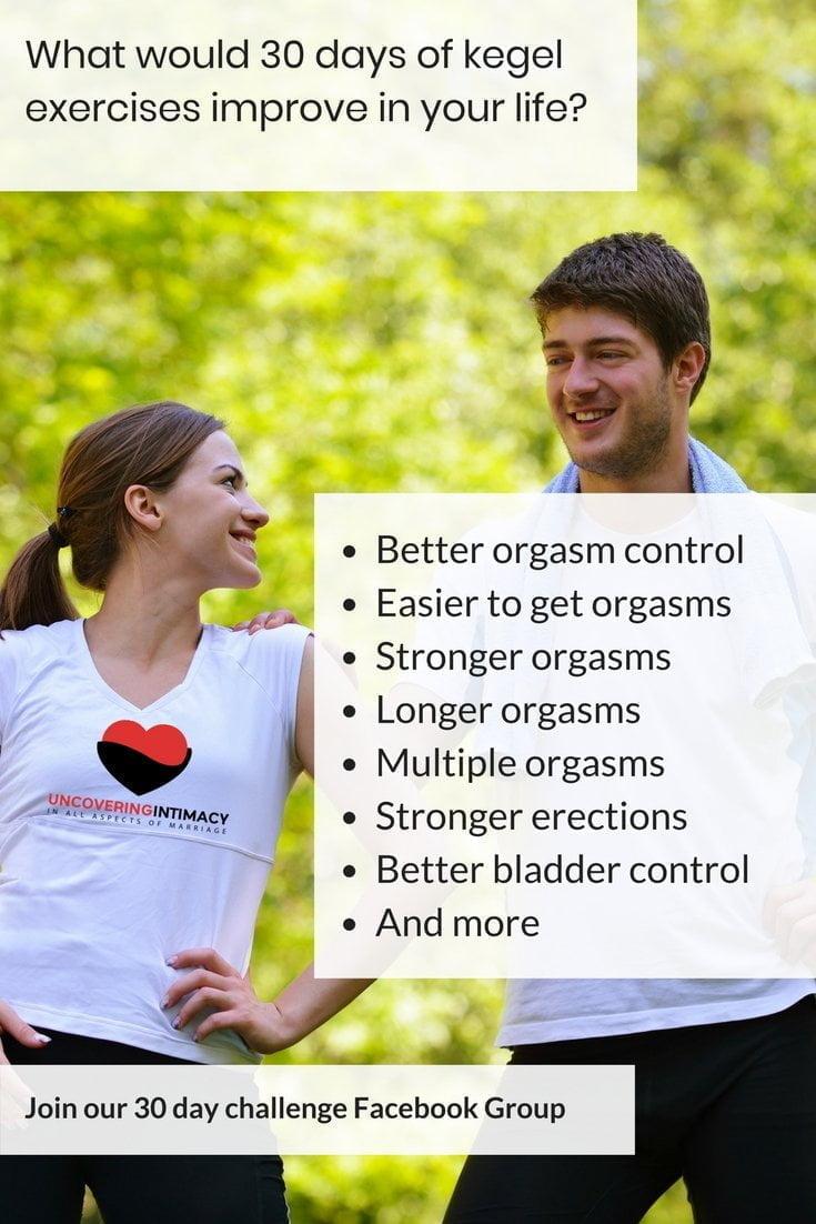Kegels for multiple orgasms