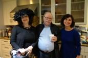 Sal (descendant of Abram Piwko) and wife Mira, Daniella, (Eldad's daughter and descendant of Pouli Piwko and Abrash Kolski)