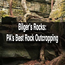 Visiting Bilger's Rocks in Clearfield County, PA