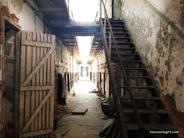 Unsurprisingly, Eastern State Penitentiary has frequent reports of paranormal activity.