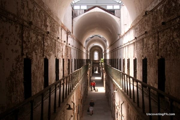 Visiting Eastern State Penitentiary in Philadelphia, Pennsylvania