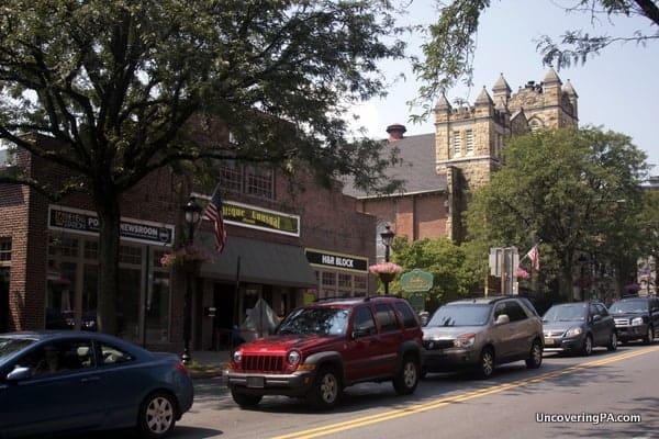 Downtown Stroudsburg, Pennsylvania