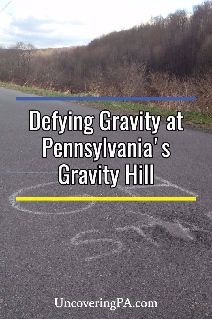 Defying gravity at Pennsylvania's Gravity Hill