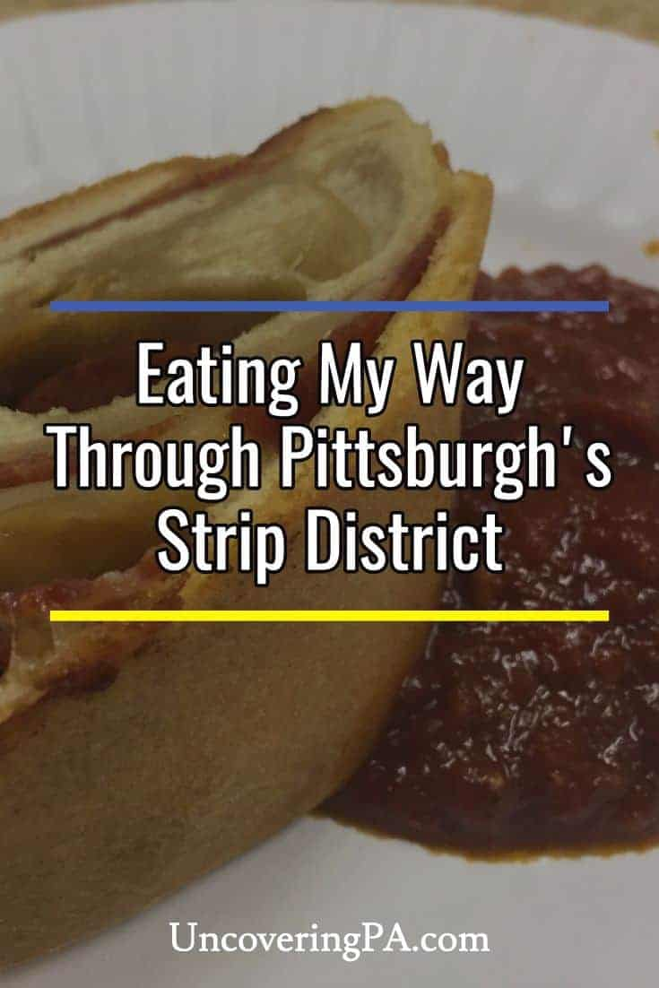Eating my way through Pittsburgh's Strip District on a Burgh Bits and Bites Food Tour #Pennsylvania