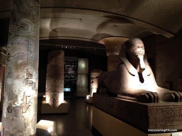Philadelphia Trivia: The Sphinx at the Penn Museum