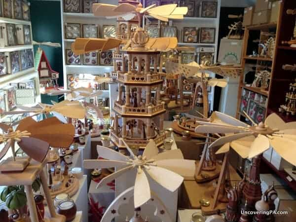 Authentic German Christmas goods are available at The Christmas Haus in New Oxford.