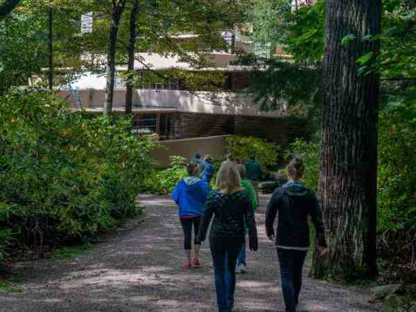 Touring Fallingwater in Pittsburgh's Laurel Highlands
