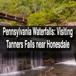 Visiting-Tanners-Falls-in-Wayne-County-PA