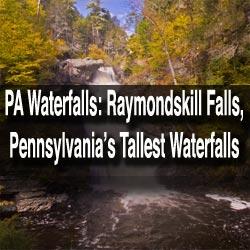 how-to-get-to-raymondskill-falls-pennsylvania