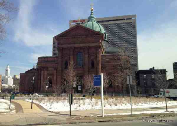 Visiting the Cathedral Basilica of Saints Peter and Paul in Philadelphia, Pennsylvania.
