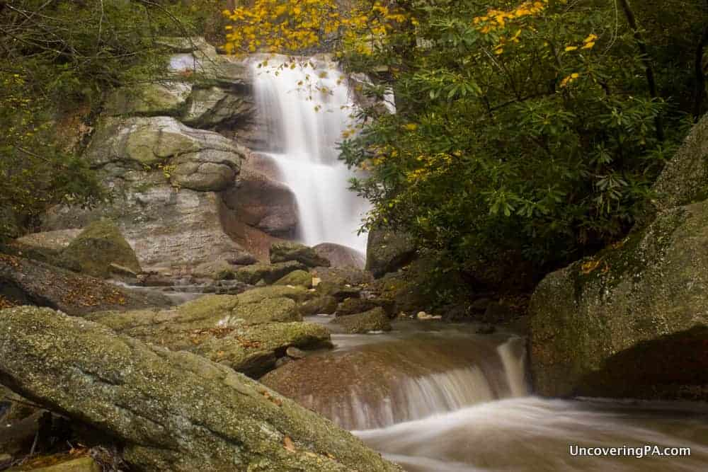 How to get to Swatara Falls in Schuylkill County, Pennsylvania.