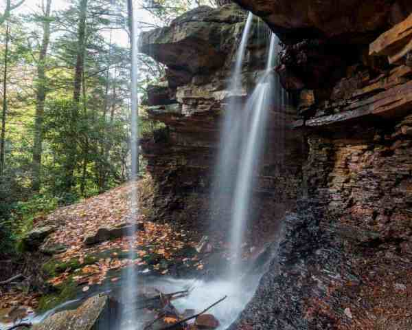 Where to hike during hunting season in Pennsylvania: Linn Run State Park