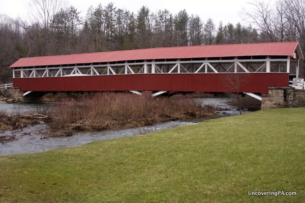 Another Look at Somerset County's Barronvale Covered Bridge.