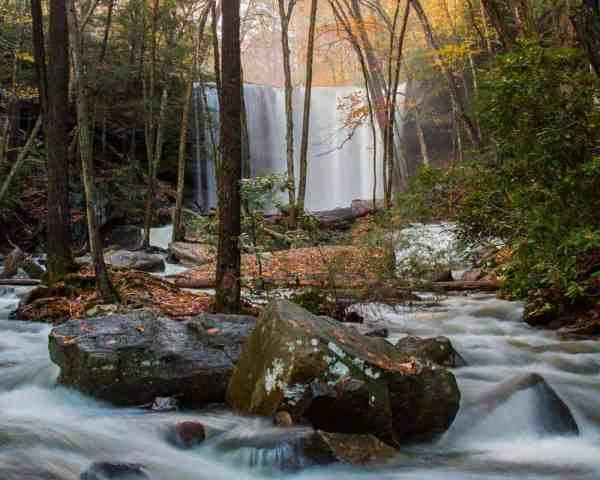 How to get to Cucumber Falls in Ohiopyle State Park