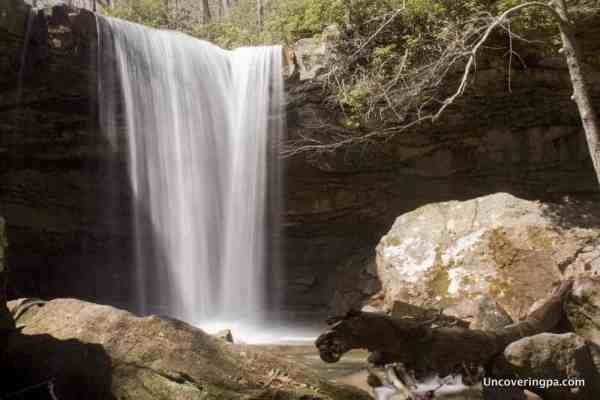 Great Pennsylvania Waterfalls - Cucumber Falls