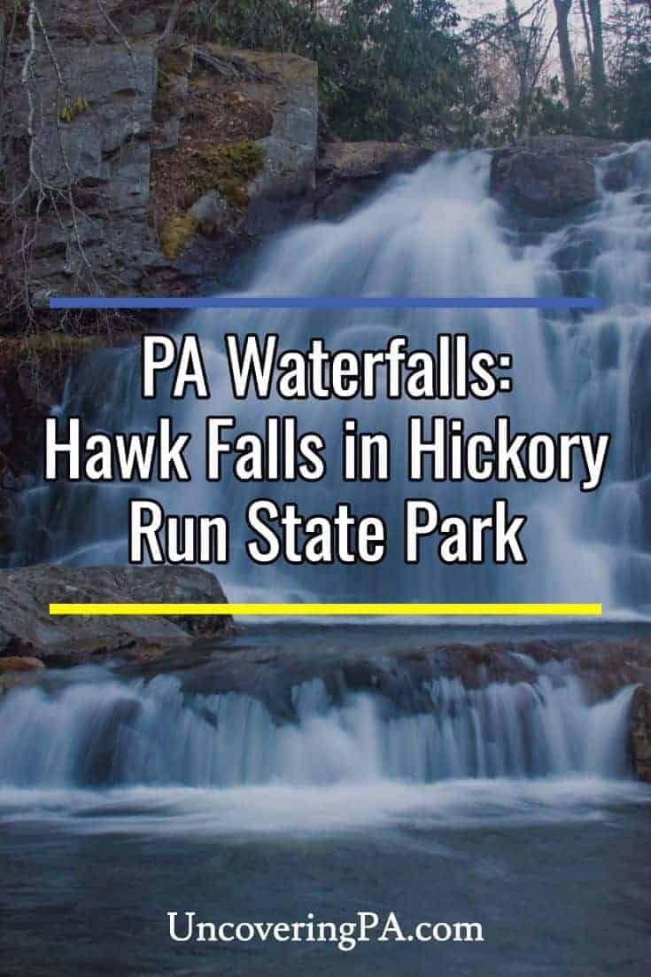 Pennsylvania Waterfalls: Hawk Falls in Hickory Run State Park