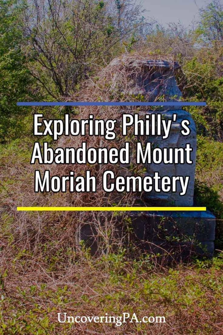 Exploring Philadelphia's Abandoned Cemetery: Mount Moriah Cemetery #Philly #Pennsylvania
