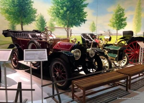Antique Cars on display at the AACA Museum in Hershey.