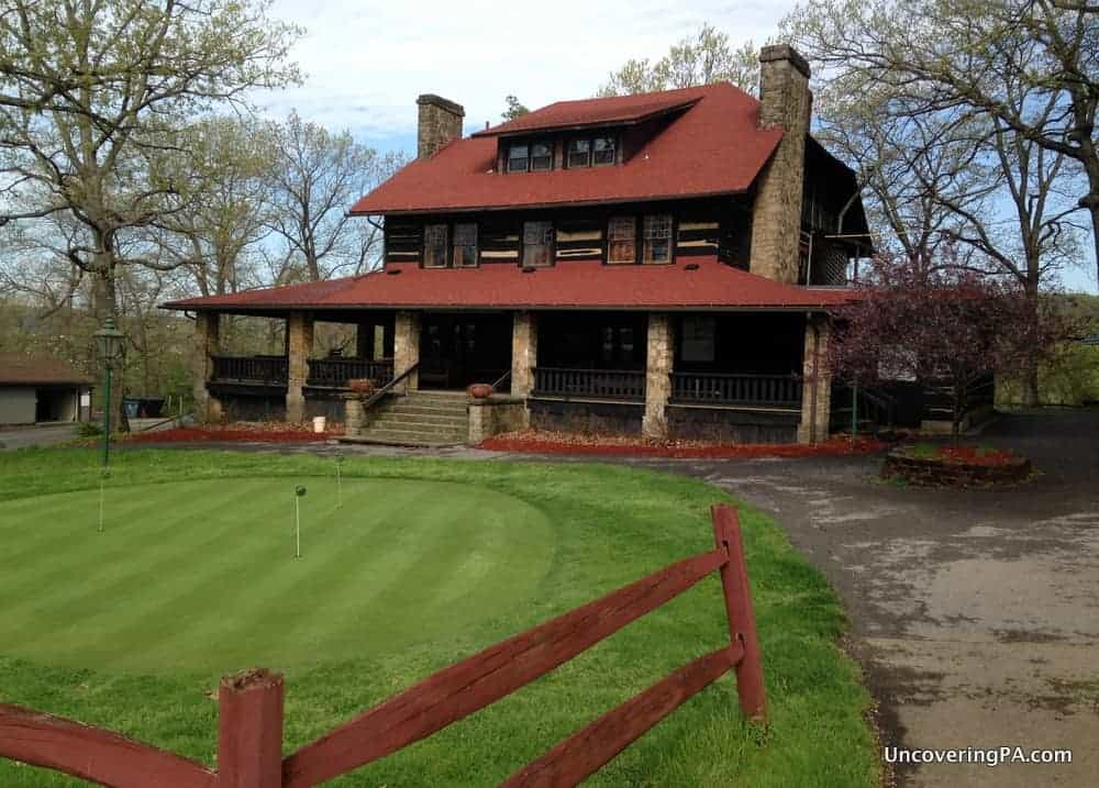 Visiting the American Golf Hall of Fame at the Foxburg Country Club in Clarion County Pennsylvania