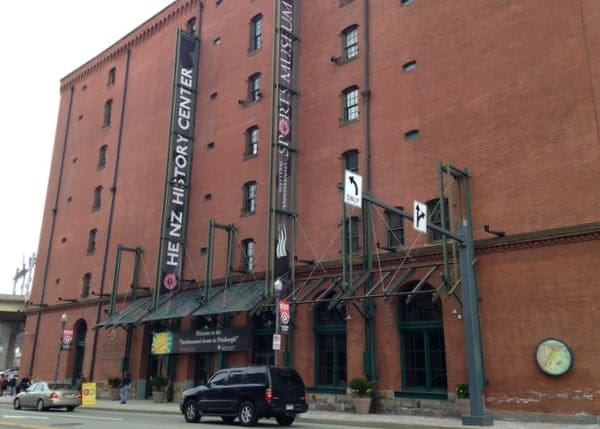 The Heinz History Center in Pittsburgh's Strip District.