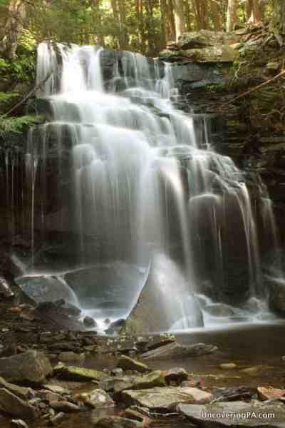 Dutchman Falls along the Loyalsock Trail, Pennsylvania.