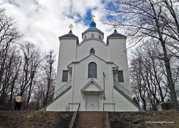 Assumption of the Blessed Virgin Mary Ukrainian Greek-Catholic Church in Centralia, Pennsylvania.