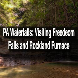 How to Get to Freedom Fall in Venango County, PA