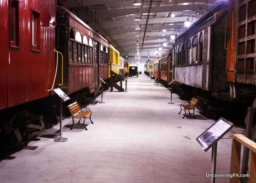 Visiting the Pennsylvania Trolley Museum in Washington, PA