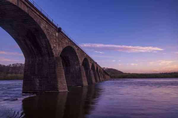 Shocks Mill Bridge along the Northwest Lancaster County River Trail.