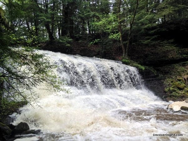 Visiting Springfield Falls in Mercer County, Pennsylvania