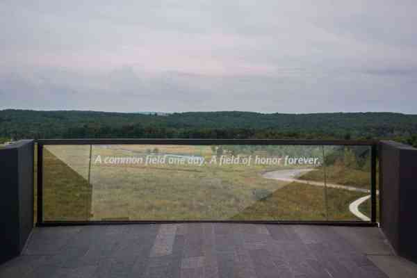 Flight 93 National Memorial Crash Site