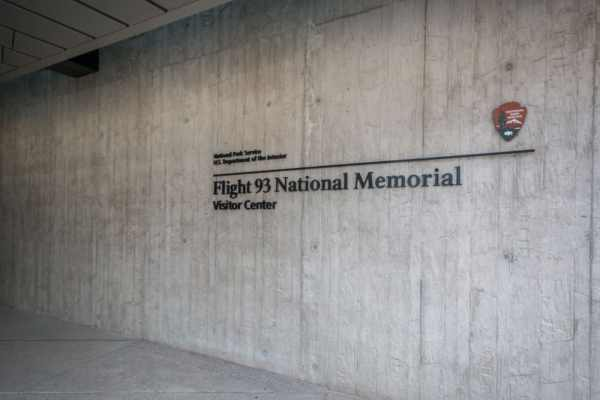 Visitor center at the Flight 93 National Memorial