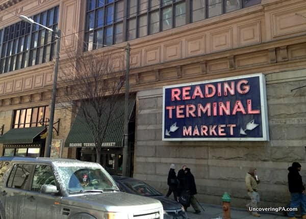 A visit to the Reading Terminal Market gives you the sights and smells of Philadelphia for free.