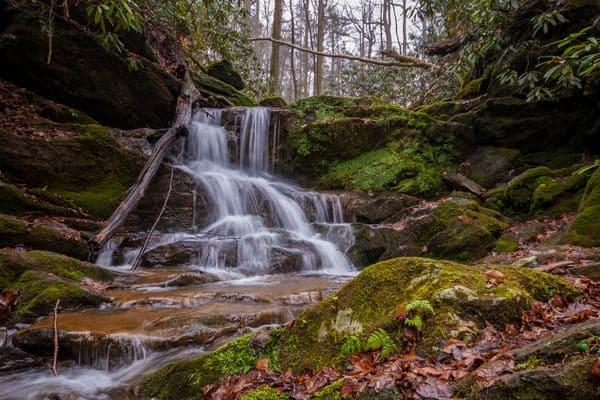 Mill Creek Falls in York County, PA