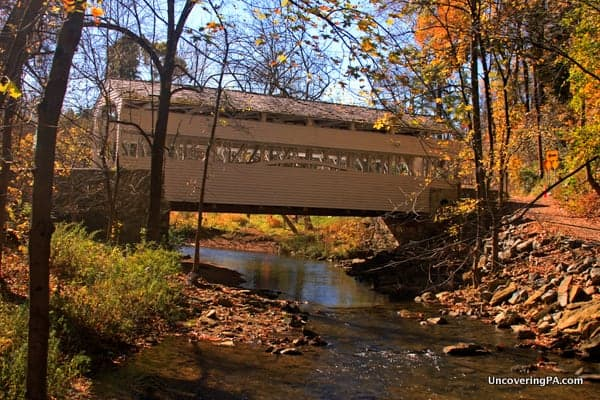 Knox Covered Bridge in the Valley Forge National Historical Site.