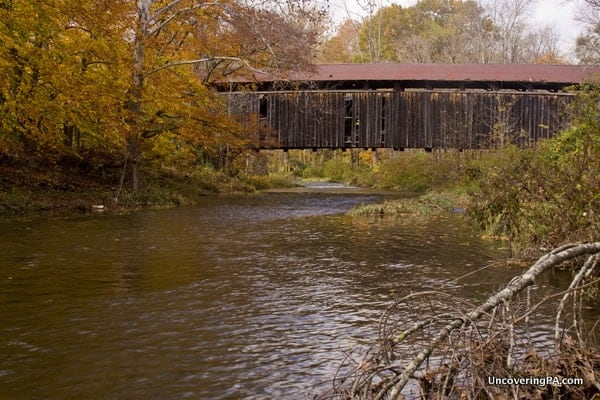 East Oriental Covered Bridge in Juniata County, Pennsylvania and Snyder County, Pennsylvania.