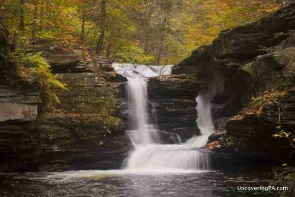 Best Pennsylvania State Parks for waterfalls: Ricketts Glen State Park