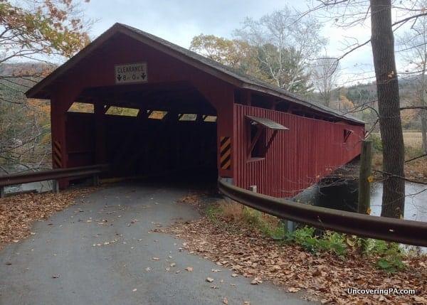 Hillsgrove Covered Bridges in Sullivan County, Pennsylvania