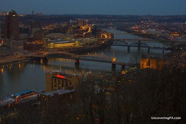 Mount Washington in Pittsburgh, Pennsylvania