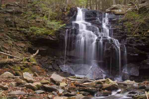 Dutchman Falls in Sullivan County, Pennsylvania